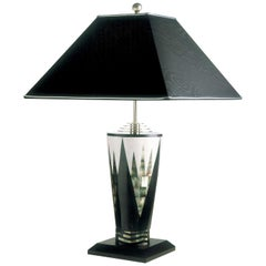 Sinapsis Black Shell Table Lamp