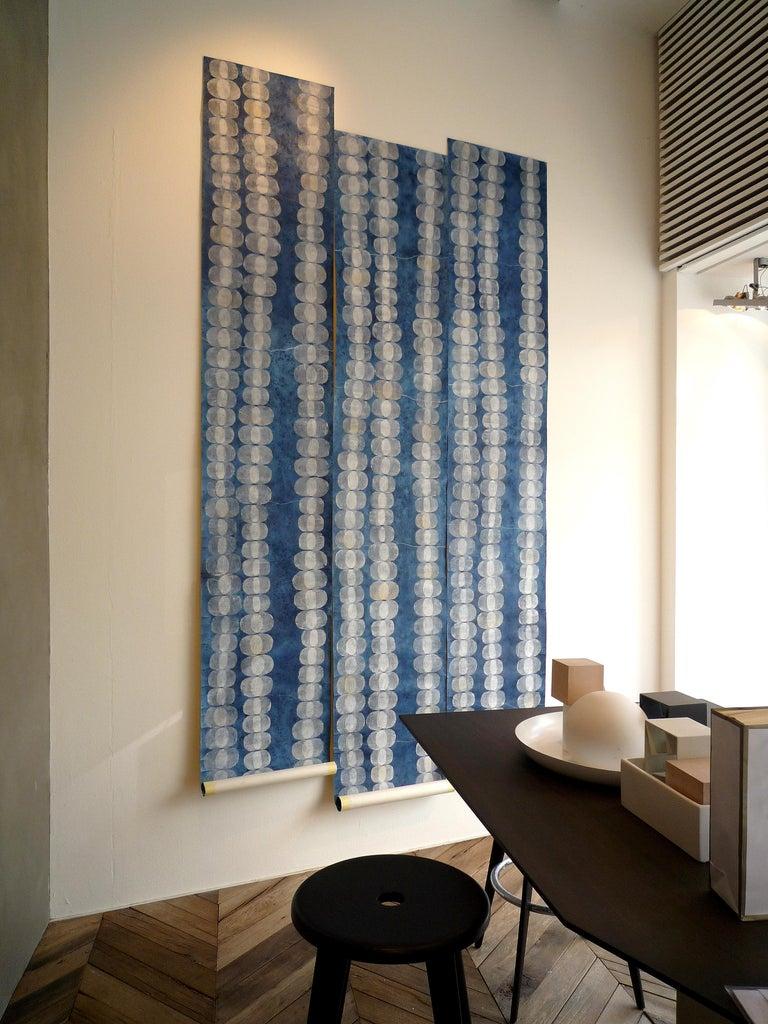 Italian Sinapsis, Handmade Wallpaper For Sale