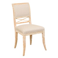 Single 19th Century Swedish Gustavian Bellman Chair