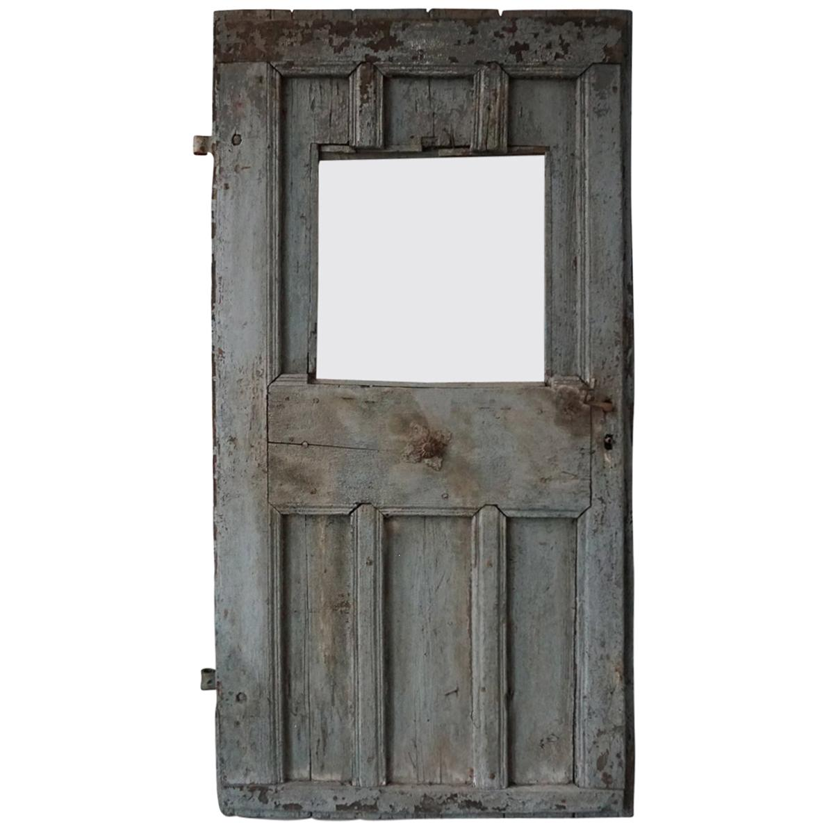 Single Antique European Farm Door