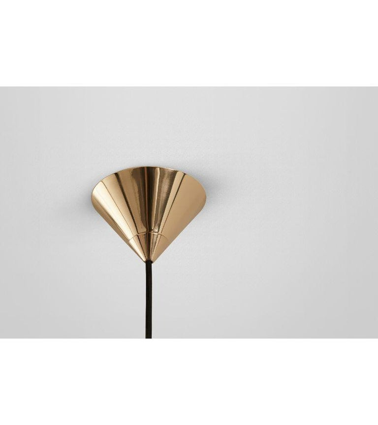 Single Arc Oddments Chandelier by Volker Haug In New Condition For Sale In Geneve, CH