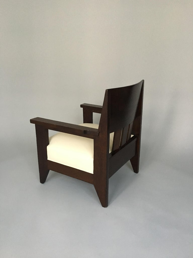 Single Armchair by Hendrik Wouda For Sale at 1stdibs