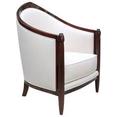 Single Art Deco Bergère