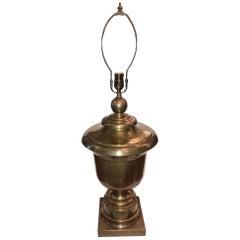 Single Brass Table Lamp