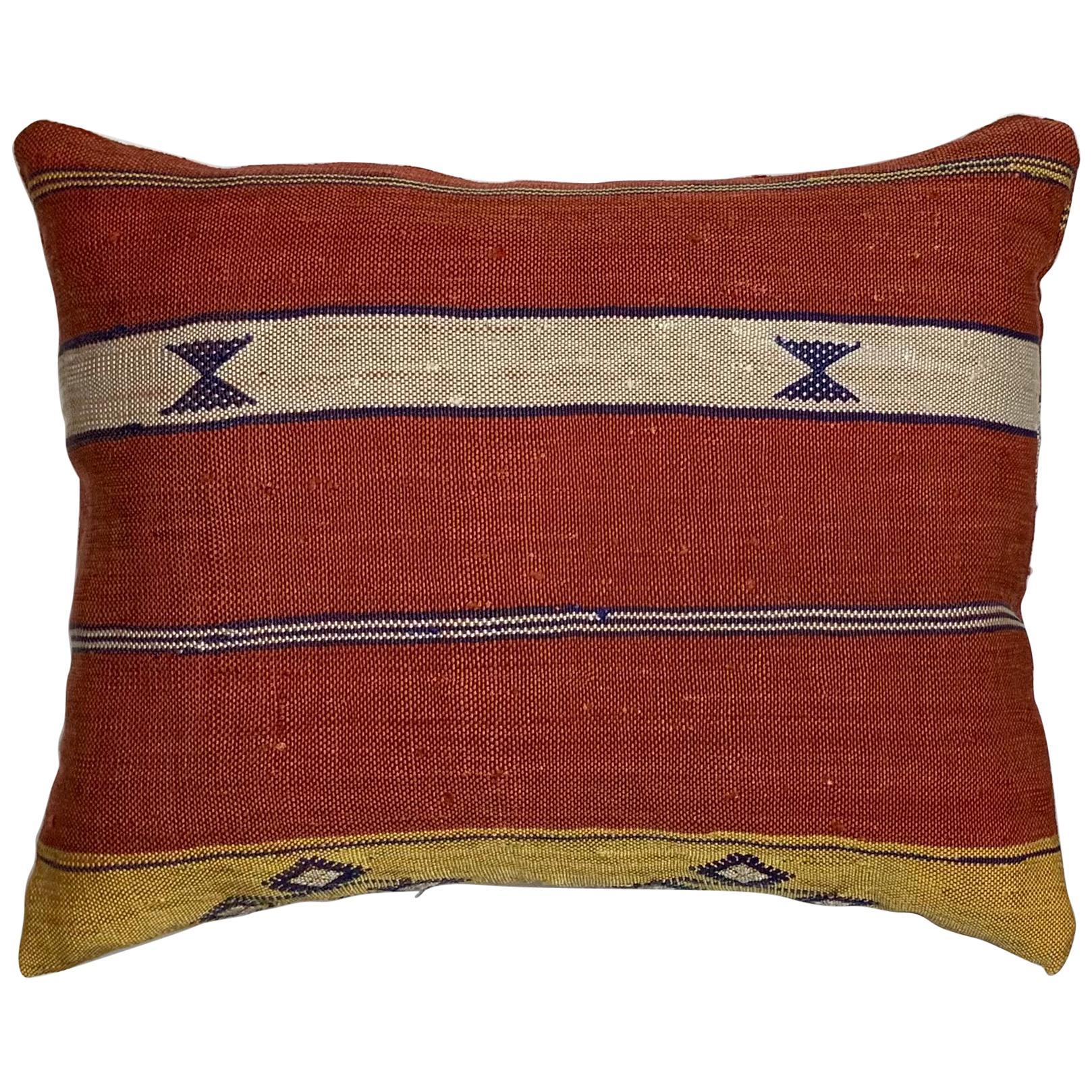 Single Cactus Silk Pillow