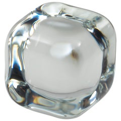 """Single """"Cailloux"""" Paperweight by Roberto Sambonet for Baccarat, 1977"""