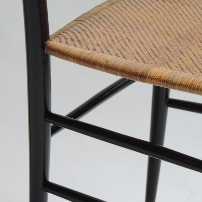 Mid-20th Century Single Chiavarina Mod. S1 chair by Azucena, Italy, 1950s For Sale