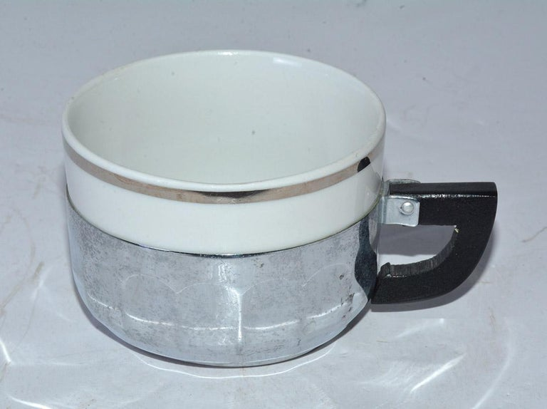 Mid-20th Century Single Cup Art Deco Drip Coffee Maker For Sale