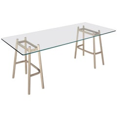 Single Curve Dining Table by Nendo & GTV Nendo & GTV