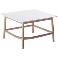 Single Curve Low Table B with Marble Top by Nendo & GTV Nendo & GTV