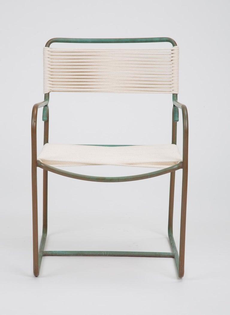 Mid-Century Modern Single Dining Armchair by Walter Lamb for Brown Jordan