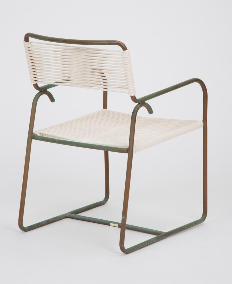 Mid-20th Century Single Dining Armchair by Walter Lamb for Brown Jordan
