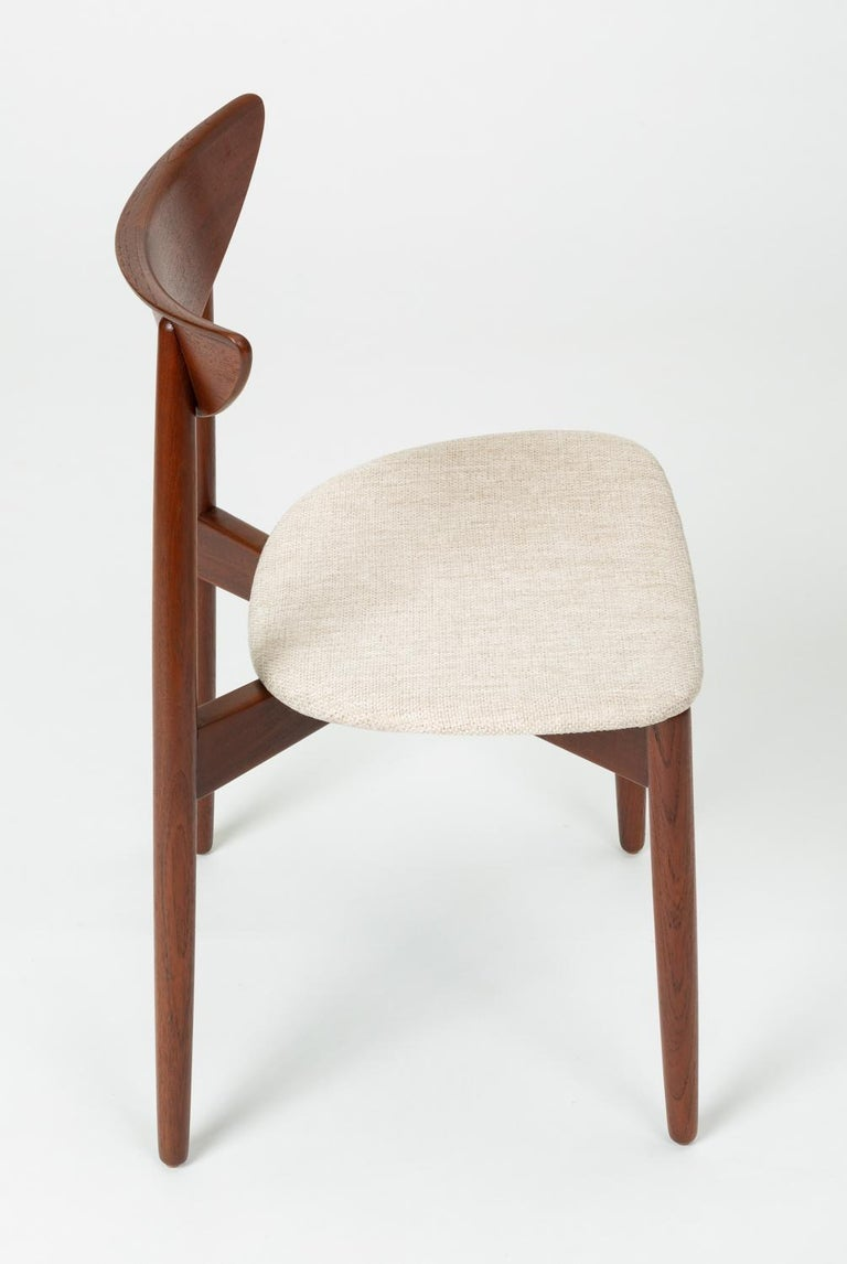 Single Dining or Accent Chair by Harry Østergaard for Randers Møbelfabrik For Sale 3
