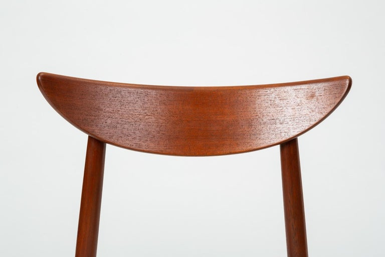 Single Dining or Accent Chair by Harry Østergaard for Randers Møbelfabrik For Sale 5