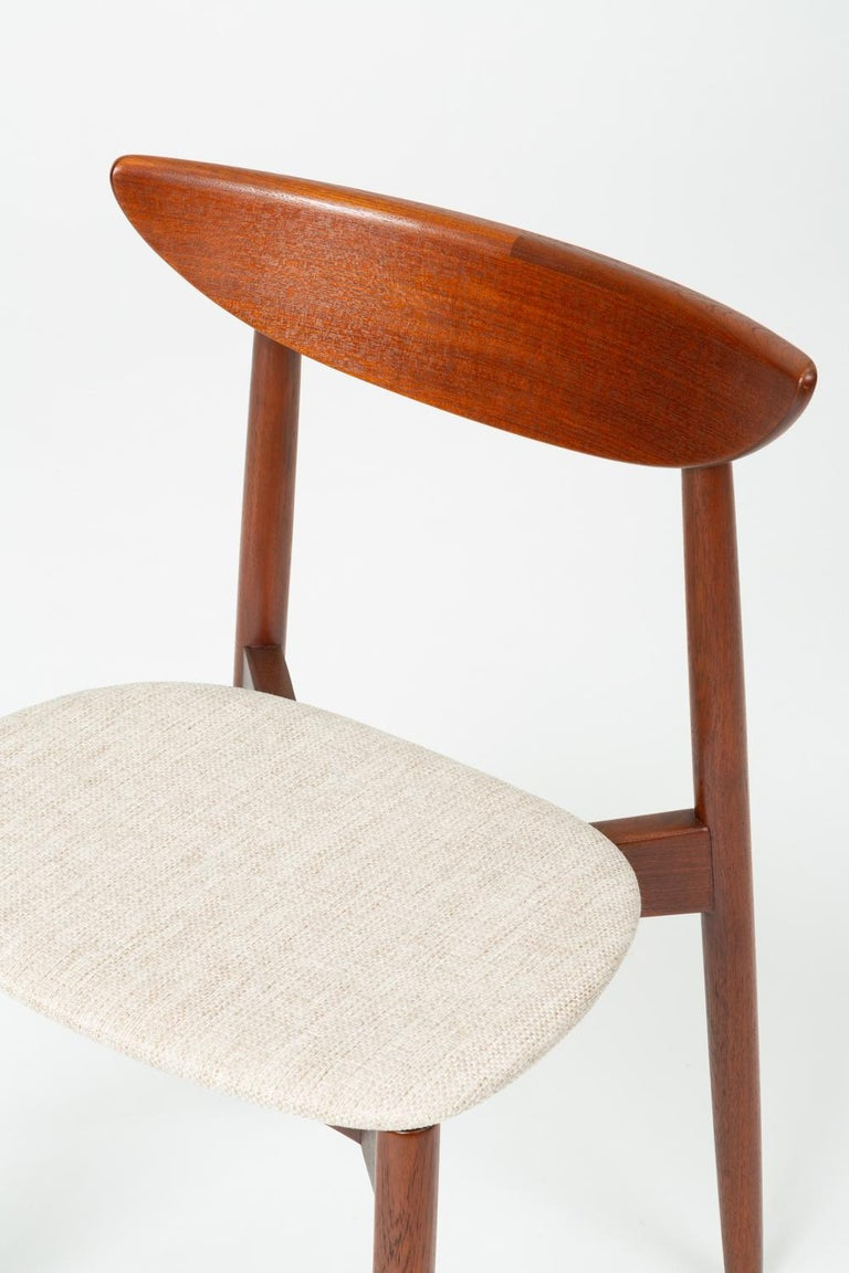 Single Dining or Accent Chair by Harry Østergaard for Randers Møbelfabrik For Sale 6