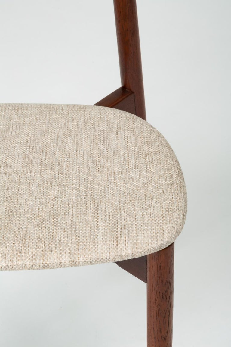 Single Dining or Accent Chair by Harry Østergaard for Randers Møbelfabrik For Sale 7