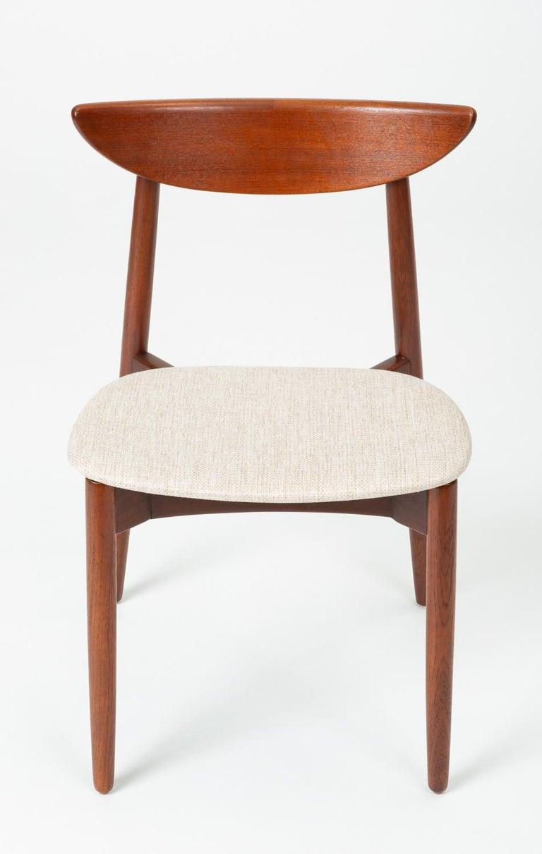 Scandinavian Modern Single Dining or Accent Chair by Harry Østergaard for Randers Møbelfabrik For Sale