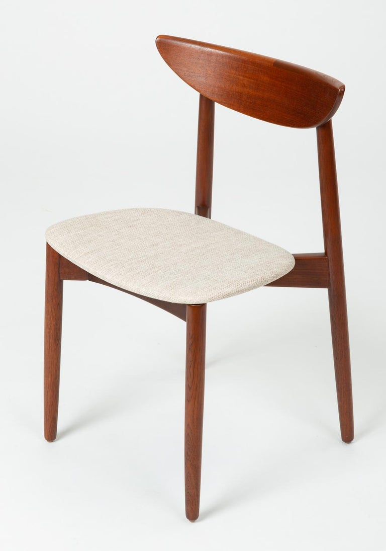Danish Single Dining or Accent Chair by Harry Østergaard for Randers Møbelfabrik For Sale