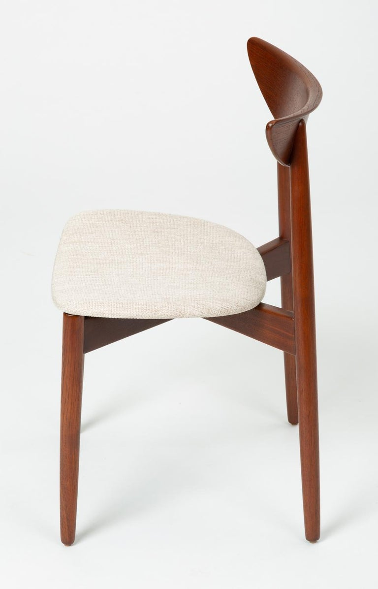 Single Dining or Accent Chair by Harry Østergaard for Randers Møbelfabrik In Good Condition For Sale In Los Angeles, CA