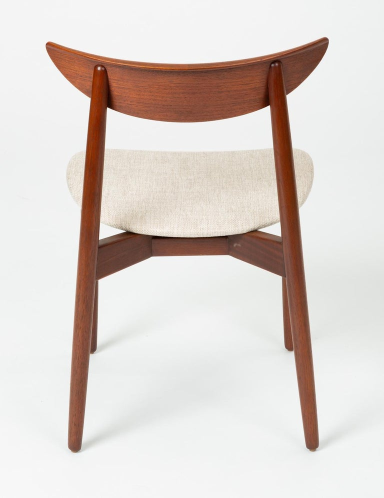 Teak Single Dining or Accent Chair by Harry Østergaard for Randers Møbelfabrik For Sale