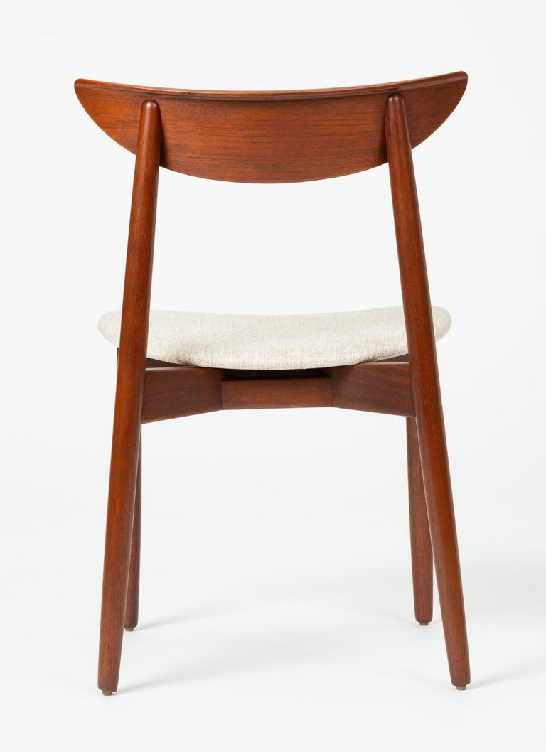Single Dining or Accent Chair by Harry Østergaard for Randers Møbelfabrik For Sale 1