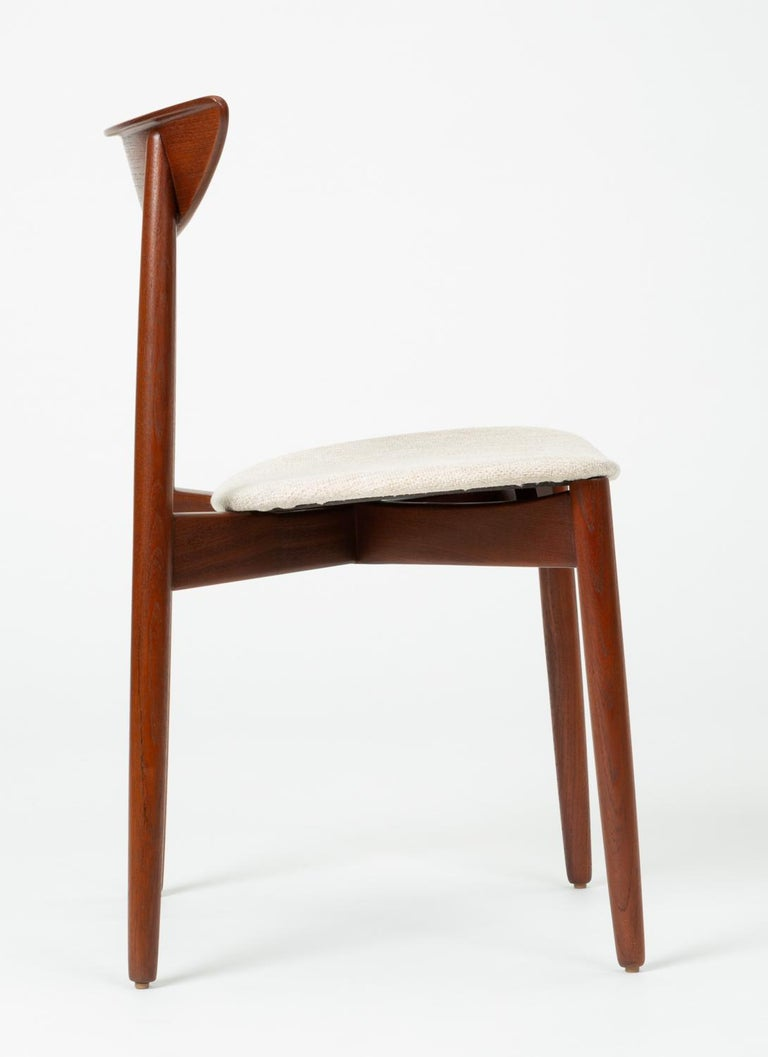 Single Dining or Accent Chair by Harry Østergaard for Randers Møbelfabrik For Sale 2