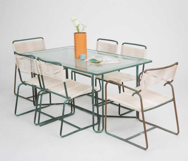 Single Dining Side Chair by Walter Lamb for Brown Jordan For Sale 5