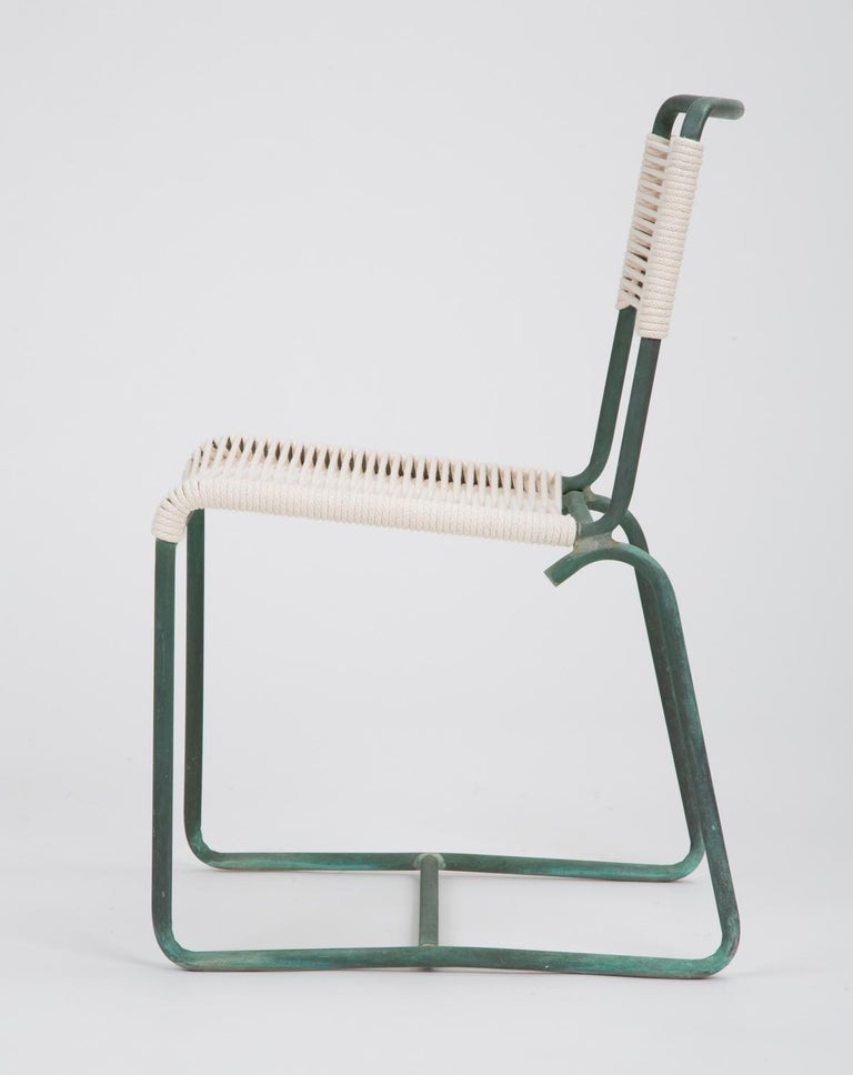 Mid-Century Modern Single Dining Side Chair by Walter Lamb for Brown Jordan For Sale