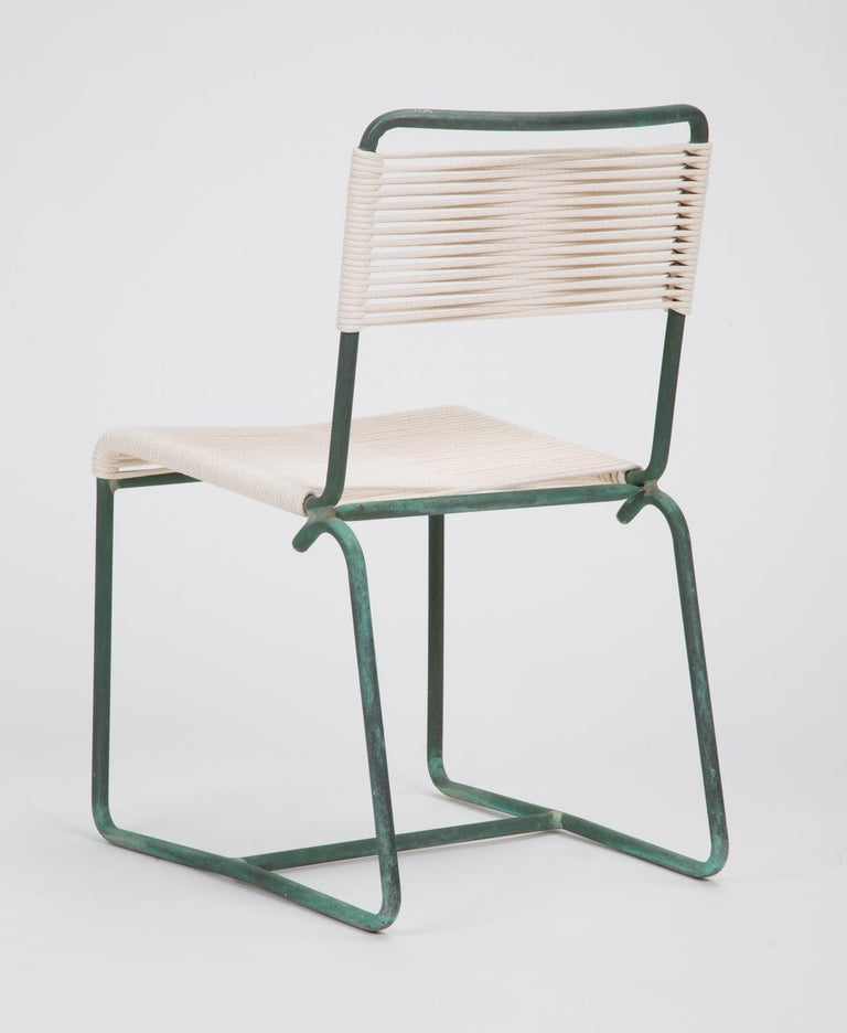 American Single Dining Side Chair by Walter Lamb for Brown Jordan For Sale