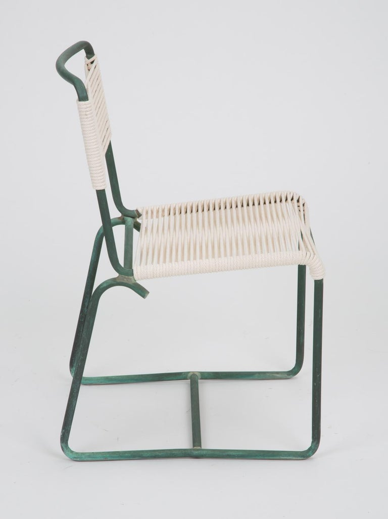 20th Century Single Dining Side Chair by Walter Lamb for Brown Jordan For Sale