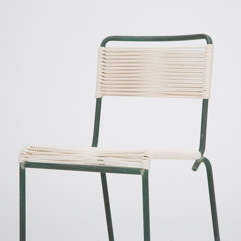 Bronze Single Dining Side Chair by Walter Lamb for Brown Jordan For Sale