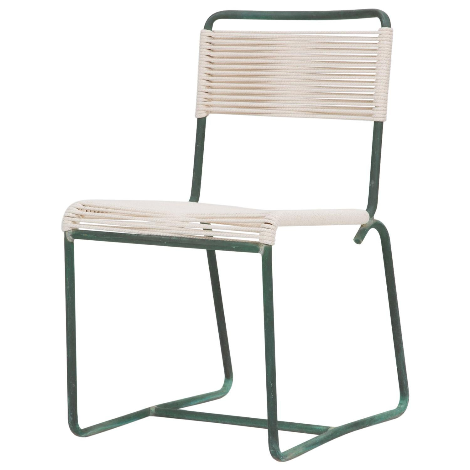 Single Dining Side Chair by Walter Lamb for Brown Jordan