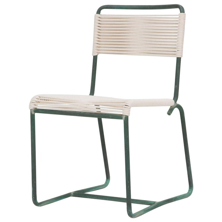 Single Dining Side Chair by Walter Lamb for Brown Jordan For Sale