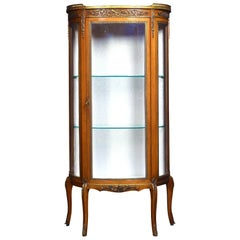 Single Door Display Cabinet of Small Proportions