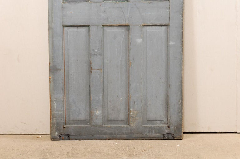 Single European 19th Century Six-Panel Wood Door For Sale 7