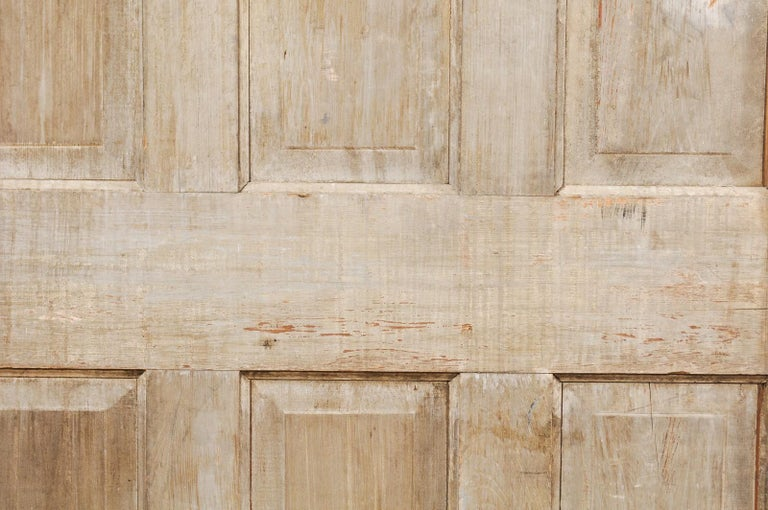 Single European 19th Century Six-Panel Wood Door For Sale 1