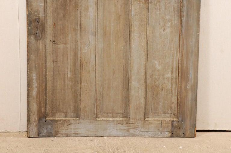Single European 19th Century Six-Panel Wood Door For Sale 3