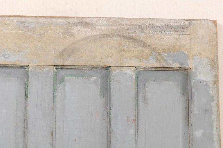 Single European 19th Century Six-Panel Wood Door For Sale 5