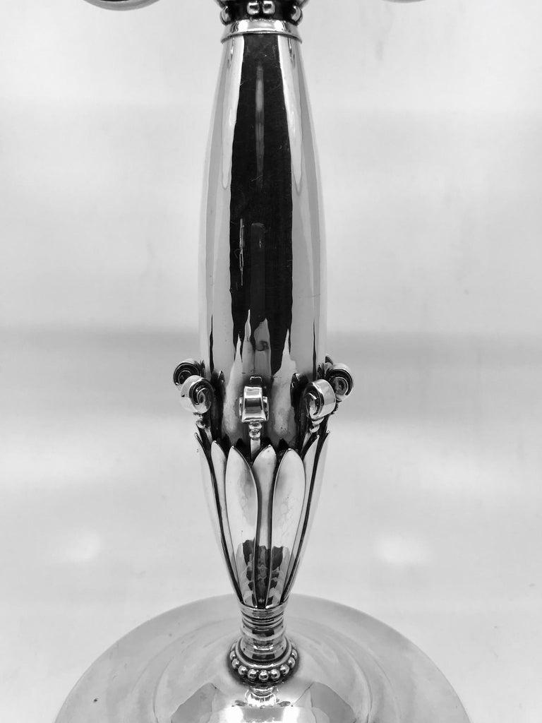 single georg jensen candelabrum 282 johan rohde for sale. Black Bedroom Furniture Sets. Home Design Ideas