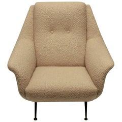 Single Gio Ponti Armchair of Comfortable Proportions