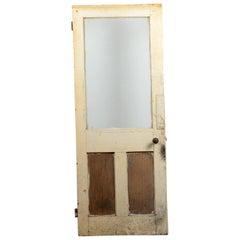 Single Glazed Internal Door, 20th Century