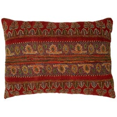 Single Hand Embroidery Persian Suzani Pillow