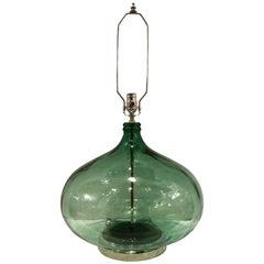 Single Italian Extra Large Bottle Lamp