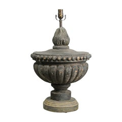 Single Italian Fragment Table Lamp from Early 19th Century