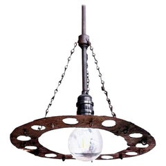 "Single Light ""Byzantine"" Fixture"
