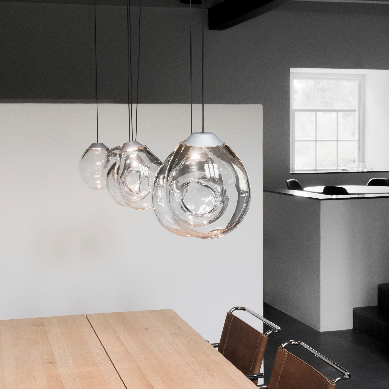 Single Momentum Blown Glass Pendants by Alex de Witte