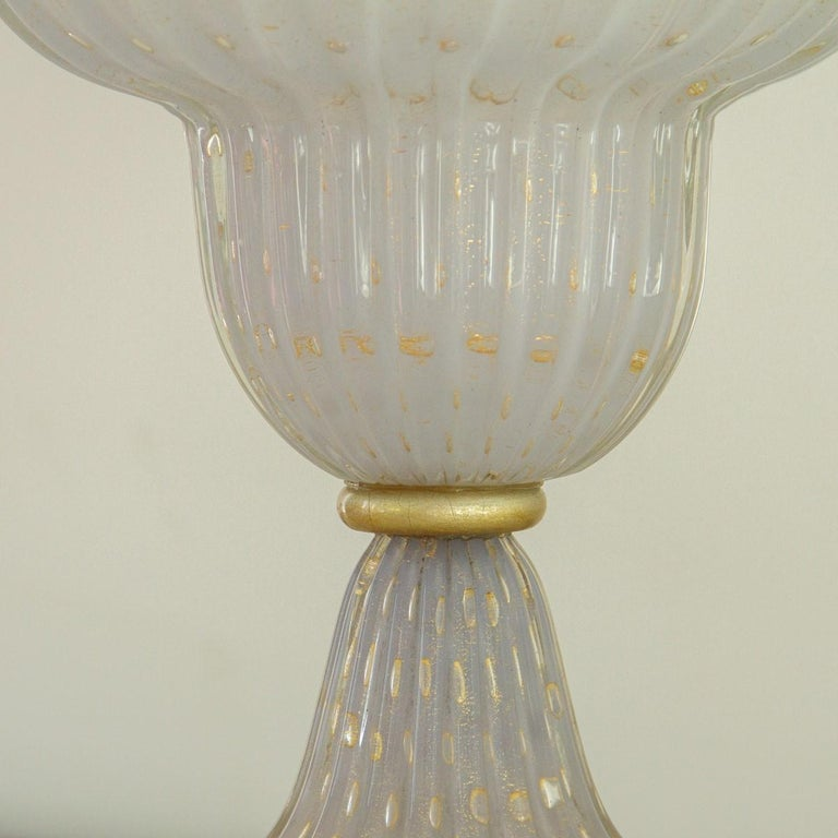 Single Murano Glass Lamp, 1960s In Good Condition For Sale In Donhead St Mary, Wiltshire