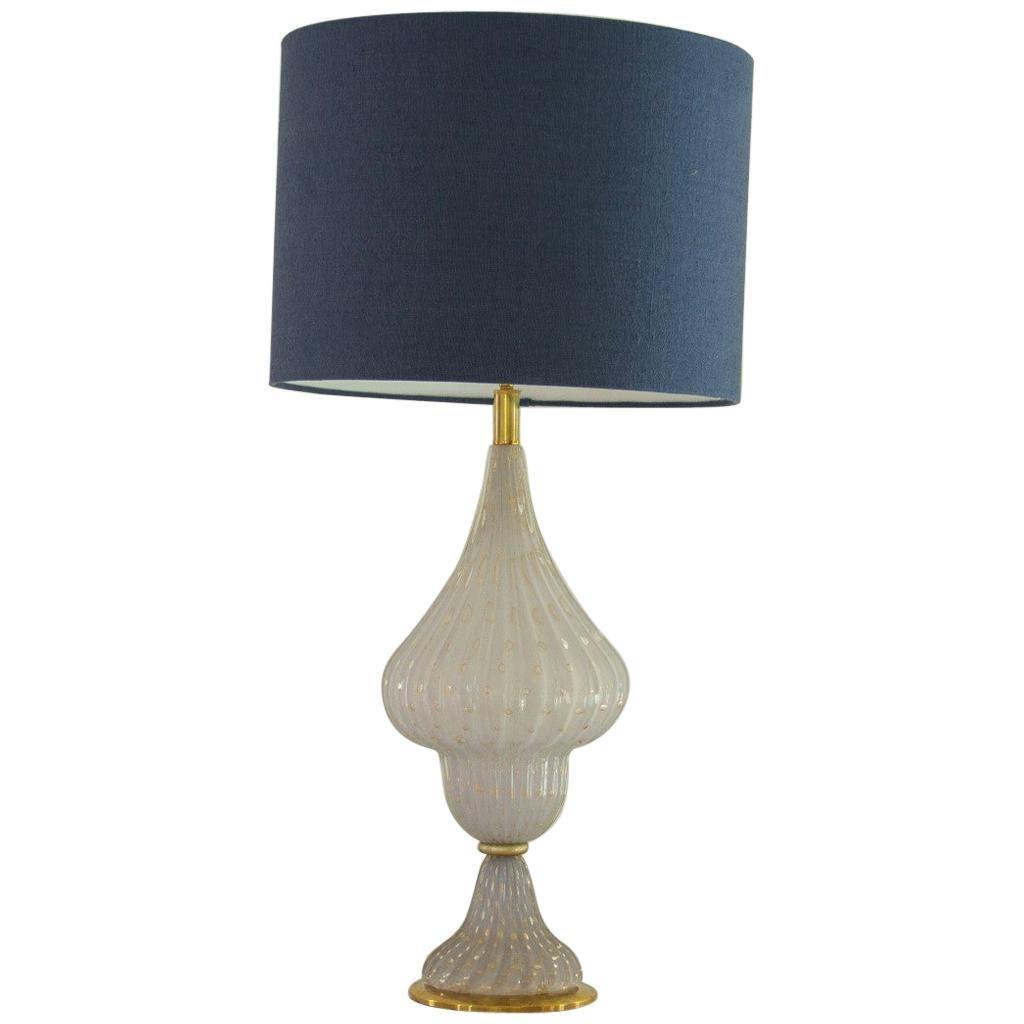 Single Murano Glass Lamp, 1960s