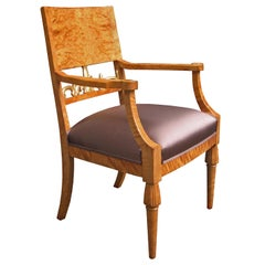 Single Neoclassical Armchair