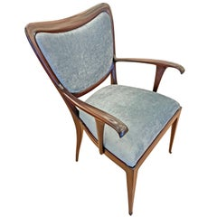 Single Paolo Buffa Armchair, Italy, 1940s